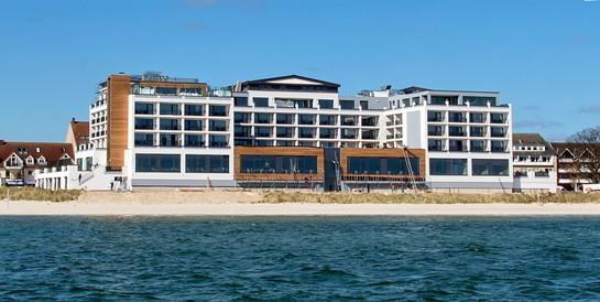 Hotel Bayside, Scharbeutz: Neubau einer 4-Sterne-Hotelanlage.