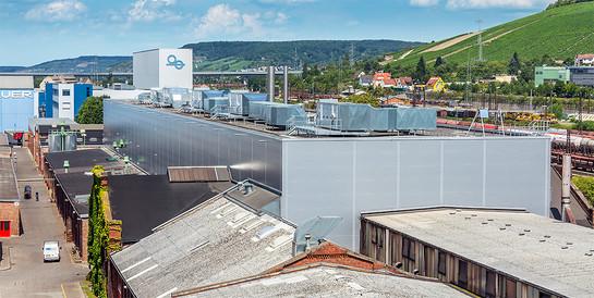 KBA Koenig & Bauer AG, Würzburg: Schlüsselfertiger Neubau eine Gießerei bei laufendem Betrieb.