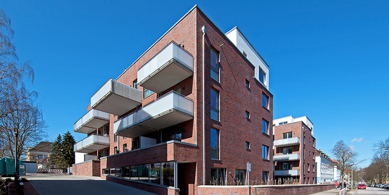 SAGA Siedlungs-Aktiengesellschaft, Hamburg: Schlüsselfertiger Neubau der Wohnanlage Gazertstraße in Hamburg.
