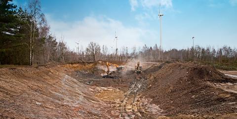 Deponie Gölenkamp: Rückbau und Rekultivierung einer ehemaligen Bohrspülungsdeponie