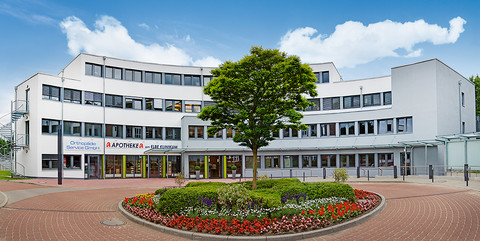 Ärzte- und Therapiezentrum am Elbe Klinikum Buxtehude: Schlüsselfertiger Neubau eines Ärzte- und Dienstleistungszentrums sowie eines Parkdecks