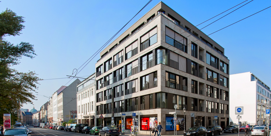 sechsgeschossiger geb udekomplex in berlin mitte ausgew hlte referenzen projekte k ster gmbh. Black Bedroom Furniture Sets. Home Design Ideas
