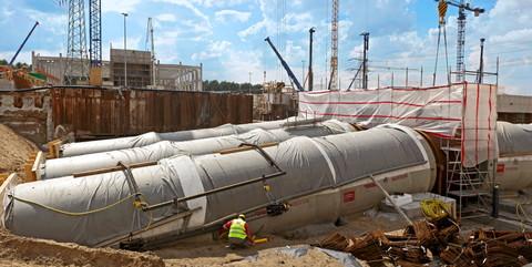 Steinkohlekraftwerk Moorburg, Hamburg: Erstellung der Hauptkühlwasserleitungen und von Infrastrukturarbeiten für das Steinkohlekraftwerk Moorburg