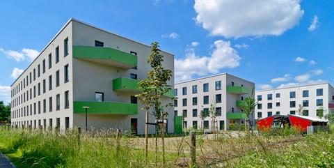 Studenten-Appartementanlage Green Dorms, Potsdam