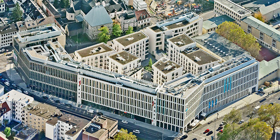 Stadtquartier Waidmarkt, Köln,: Schlüsselfertiger Neubau des kompletten Stadtquartiers.
