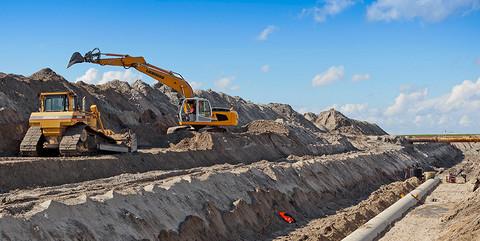JadeWeserPort, Wilhelmshaven: Erstellung der Infrastruktur für die Logistikzone sowie von LKW-Parkplätzen