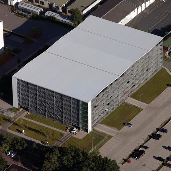 Volim GmbH, Braunschweig: Erweiterung eines Parkhauses um 476 Pkw-Stellplätze.