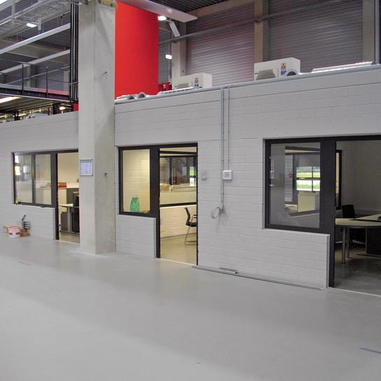 Elopak GmbH, Speyer: Neubau einer Produktionshalle für die Nahrungsmittelindustrie.