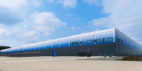 Logistikhalle IDI Gazeley, Kassel: Schlüsselfertiger Neubau einer Logistikimmobilie