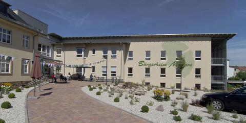 Bürgerheim Meerane, Meerane: Schlüsselfertige Erweiterung eines denkmalgeschützten Seniorenpflegeheims