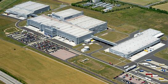 KNV Koch, Neff & Volckmar GmbH, Erfurt: Schlüsselfertiger Neubau des kompletten Logistikstandortes.