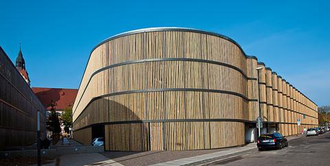 Besucherparkhaus Zoo Leipzig: Schlüsselfertiger Neubau des Besucherparkhaus mit 795 Pkw-Stellplätzen