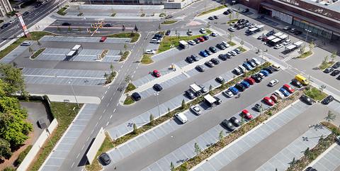 Außenanlagen BraWoPark, Braunschweig: Befestigte Flächen auf 45.000 qm