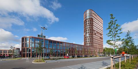 BraWo Park Business Center II, Braunschweig: Schlüsselfertiger Neubau des 19-geschossigen Bürogebäudes