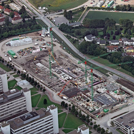Bau- und Liegenschaftsbetrieb NRW Niederlassung, Bielefeld: Universität Bielefeld.