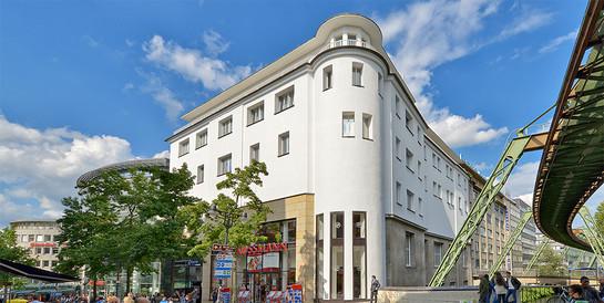 Geschäftshaus Alte Freiheit 21, Wuppertal: Schlüsselfertige Revitalisierung eines Geschäftshauses in der Innenstadt