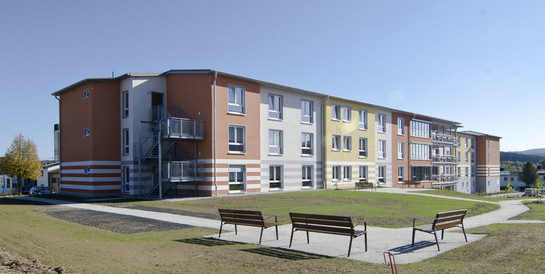 Senioren-Servicehaus Waldershof (Oberpfalz): Schlüsselfertiger Neubau eines Seniorenheims mit 72 Appartements
