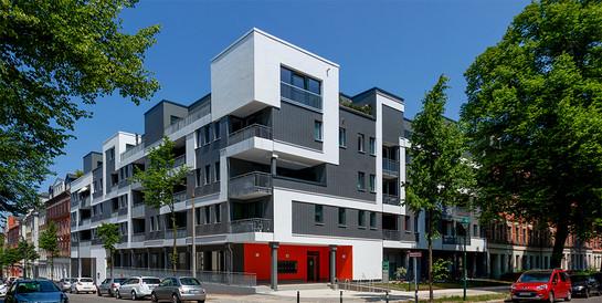 CSg Chemnitzer Siedlungsgemeinschaft eG, Chemnitz: Schlüsselfertiger Neubau eines Wohn- und Geschäftshauses.