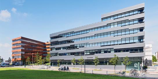 wpd Onshore AG, Bremen: Schlüsselfertiger Neubau von zwei Bürogebäuden mit Parkhaus inkl. Tiefbauarbeiten.