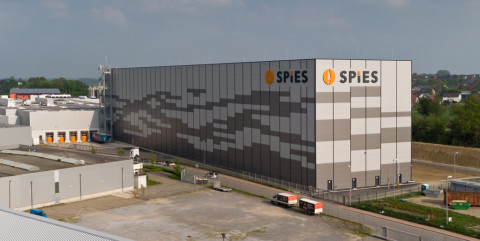 Neubau Produktionshalle mit Hochregallager und Verwaltung in Melle-Gesmold</span><span>
