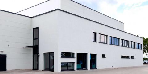 Produktionshalle in Burg