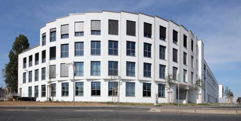 Schlüsselfertiger Neubau eines KPE-Bürogebäudes in Bonn</span><span>
