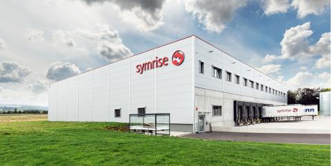 Neubau einer Distributionshalle für Symrise AG aus Holzminden