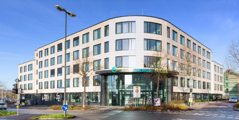 Schlüsselfertiges Bürogebäude als neue Zentrale der Rhön Energie in Fulda</span><span>