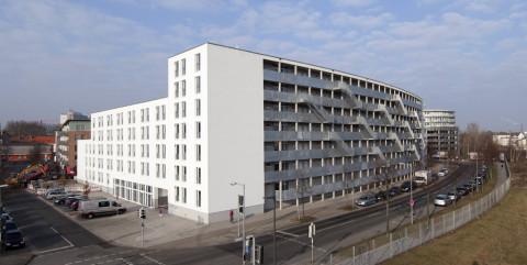Schlüsselfertiger Neubau eines Studentenwohnheimsmit 303 Wohneinheiten