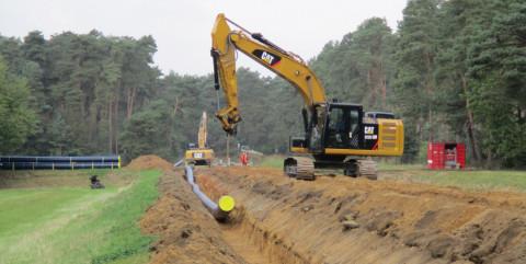 Besondere Schutzmaßnahmen für Arbeiten im Trinkwassergewinnungsgebiet