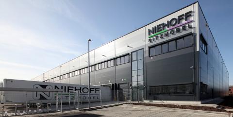 Schlüsselfertige Logistikhalle für Niehoff Sitzmöbel in Freckenhorst</span><span>