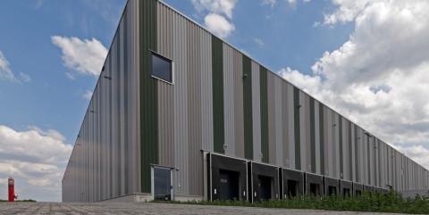 Schlüsselfertiger Neubau einer Logistikhalle in Braunschweig</span><span>