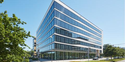 Schlüsselfertiger und hochmoderner Neubau eines Büro- und Geschäftshauses in Frankfurt</span><span>