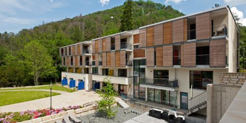 Hotelgebäude in Bad Harzburg