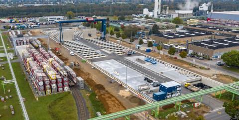 Containerterminal Dormagen II mit höchsten Sicherheitsstandards