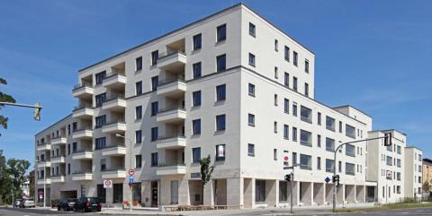 Neubau eines Stadtquartiers mit Service-Wohnungen