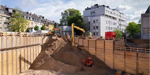 Schlüsselfertige Baugrube für Uniklinik Köln
